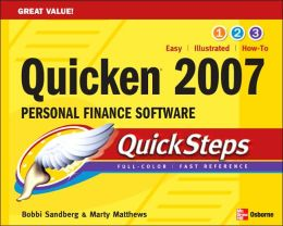 Quicken 2007 Personal Finance Software Quicksteps