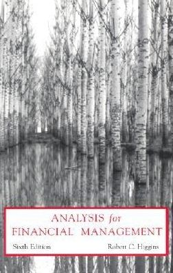 Analysis for Finance Management