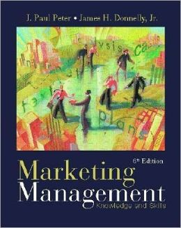 Marketing Management: Knowledge and Skills