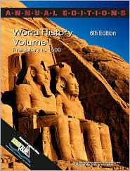 Annual Editions: World History,Volume 1