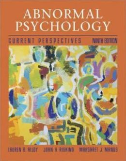 Abnormal Psychology with Casebook and Mind Map CD
