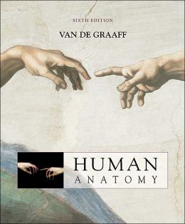 MP: Van de Graaff Human Anatomy 6/E + Olc Password Card + ESP + Strete/Creek's Atlas to Human Anatomy