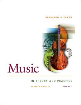 Music in Theory and Practice, Volume Two, with Anthology CD