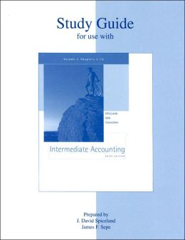 Study Guide for Use with Intermediate Accounting: Volume I, Chapters 1-12