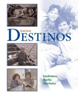 McDougal Littell Destinos: Destinos Student Edition w/Listening Comprehension Audio CD Grades 9-12 2002