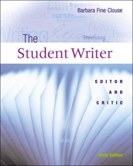 Student Writer: Editor and Critic