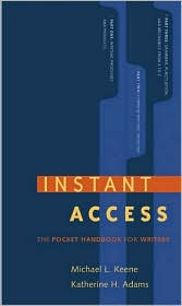Instant Access: The Pocket Reference for Writers