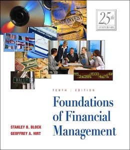 Foundations of Financial Management 10e + Self-Study Software CD-ROM + Powerweb + Free SG