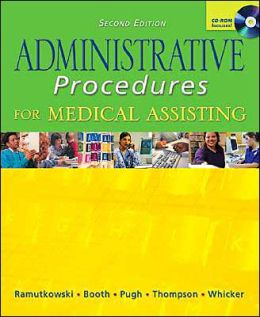 Administrative Procedures for Medical Assisting with Student CD & Bind-in Card