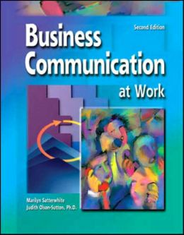 Business Communication at Work - With CD