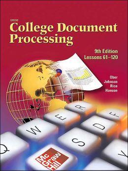 College Document Precessing