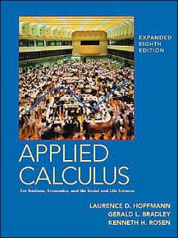 MP Applied Calculus for Business, Economics, and the Social and Life Sciences, Expanded 8e W/ Mathzone
