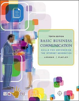 Basic Business Communication: Skills for Empowering the Internet Generation