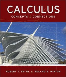Calculus : Concepts and Connections - With CD