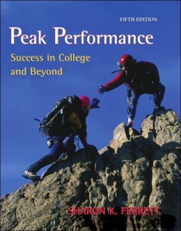 Peak Performance: Success in College and Beyond with online access card