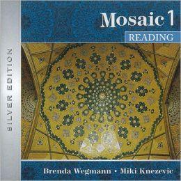 Interactions/Mosaic: Silver Edition - Mosaic 1 (Intermediate to High Intermediate) - Reading Class Audio CD