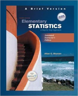 Elementary Statistics: A Step by Step Approach: A Brief Version