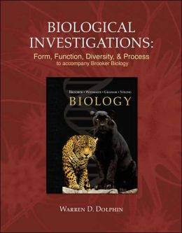 Dolphin Biological Investigations Lab Manual specific t/a Brooker Biology