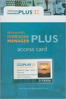Homework Manager Plus Card to accompany Intermediate Accounting