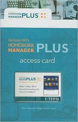 Homework Manager Plus Card to accompany Financial Accounting