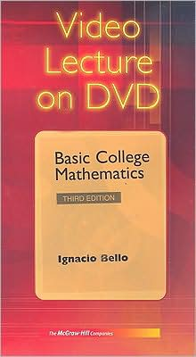 Video DVD t/a Basic College Mathematics