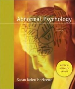 Abnormal Psychology: Media and Research Update