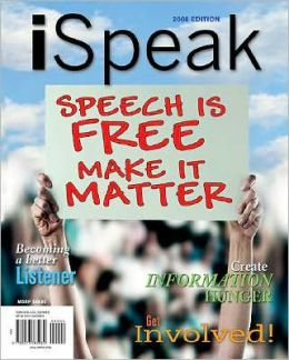 iSpeak: Speech is Free Make It Matter