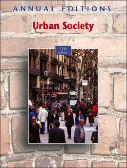 Annual Editions: Urban Society