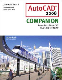 AutoCAD 2008 Companion