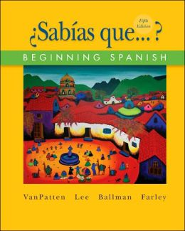 Sabias que...?: Beginning Spanish