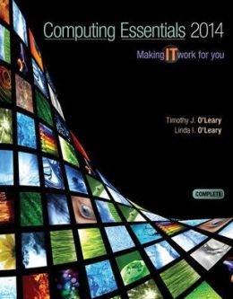 Computing Essentials 2014: Comp