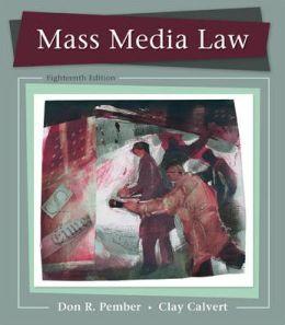 Mass Media Law 2011/2012 Edition