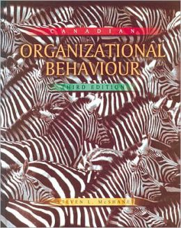 Canadian Organizational Behaviour (Canadian)