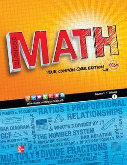 Glencoe Math Course 1, Student Edition, Volume 1