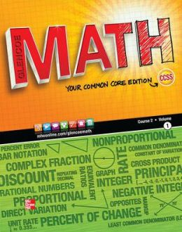 Glencoe Math Course 2, Student Edition, Volume 1