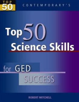 Top 50 Science Skills for GED Success - Student Text Only