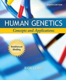 Human Genetics (NASTA Hardcover Reinforced High School Binding) by Ricki Lewis
