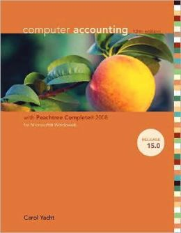 Computer Accounting with Peachtree Complete 2008 for Microsoft Windows, Release 15