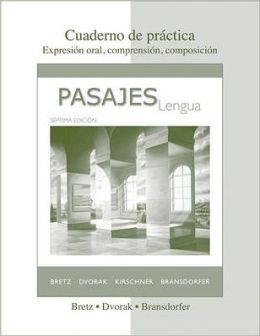Pasajes: Cuaderno De Practica (Workbook)