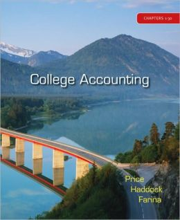 College Accounting Student Edition Chapters 1-30 with Home Depot 2007 Annual Report