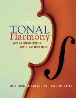 MP Tonal Harmony Workbook with Workbook CD and Finale Discount Code