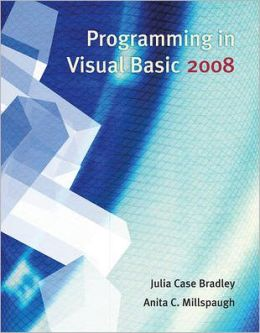 Programming in Visual BASIC 2008 - With CD