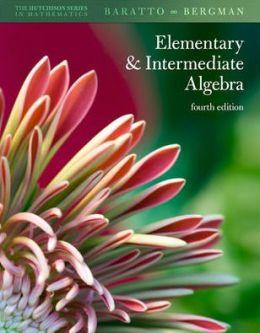 Student Solutions Manual Elementary & Intermediate Algebra