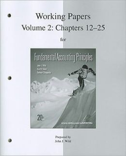 Working Papers (print) Vol 2 for FAP Volume 2 (CH 12-25)