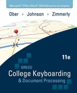 Ober: Kit 2: (Lessons 61-120) w/ Word 2010 Manual