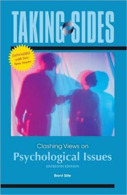 taking sides clashing educational psychology