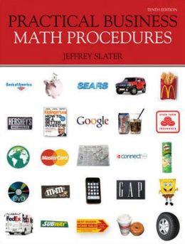 Practical Business Math Procedures with Business Math Handbook, WSJ, DVD V2