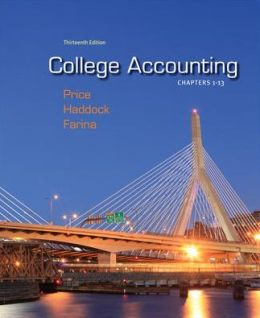 College Accounting Chapters -13 with Connect Plus