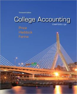 College Accounting Chapters 1-30 with Connect Plus