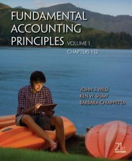Fundamental Accounting Principles Volume 1 (Chapters 1-12)